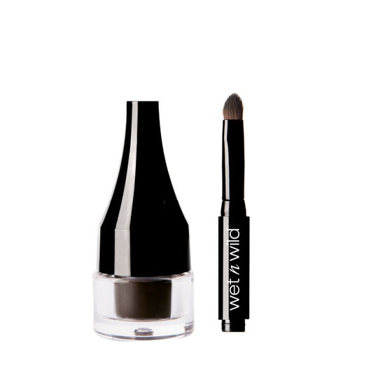 Wet n Wild | Ultimate Brow Pomade-Espresso - Product front facing with cap off on a white background