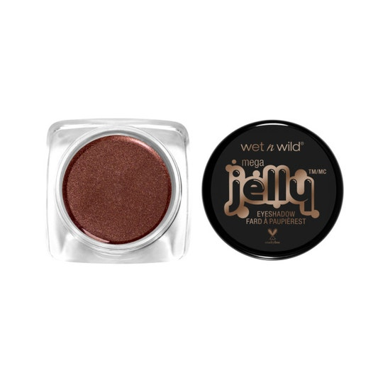 Wet n Wild | Mega Jelly Eyeshadow Pot- Just Rust Me - Product front facing with cap off on a white background