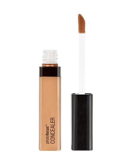 Wet n Wild | Photo Focus Concealer Med/Deep Tan - Product front facing with cap off on a white background
