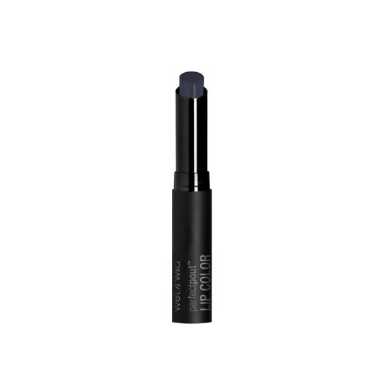 Wet n Wild | Perfect Pout Lip Color- Power Outage - Product front facing with cap off on a white background