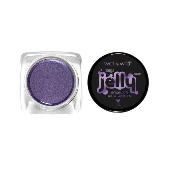 Wet n Wild   Mega Jelly Eyeshadow Pot- Dethroned - Product front facing with cap off on a white background