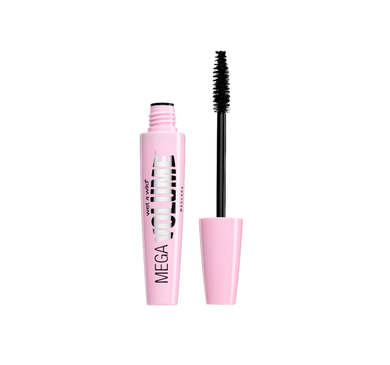 Wet n Wild | Mega Volume Mascara, Very Black - Product front facing with cap off on a white background