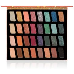 Wet n Wild | Color Icon 32-Pan Eyeshadow Palette - Product front facing open on a white background