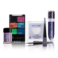 Wet n Wild | Midnight Goddess Collection - Products front facing on white background