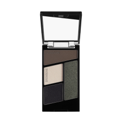 Wet n Wild | Color Icon Eyeshadow Quad-Lights Out - Product front facing with cap off on a white background