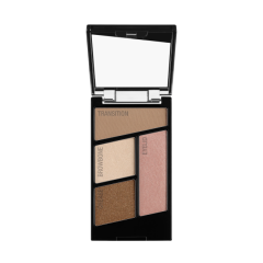 Wet n Wild | Color Icon Eyeshadow Quad-Walking On Eggshells - Product front facing with cap off on a white background