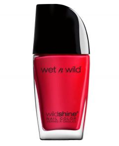 Wet n Wild | Wild Shine Nail Color- Red Red - Product front facing on a white background