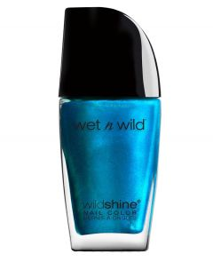 Wet n Wild | Wild Shine Nail Color- Bijou Blue - Product front facing on a white background