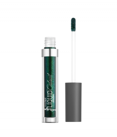 Wet n Wild | Megalast Liquid Catsuit Liquid Eyeshadow-Emerald Gaze - Product front facing with cap off on a white background