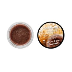 Wet n Wild | Perfect Pout Lip Scrub- Brown Sugar Cassonade - Product front facing with cap off on a white background
