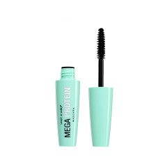 Wet n Wild | Mega Protein Mascara, Very Black - Product front facing with cap off on a white background