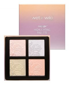Wet n Wild | MegaGlo Highlighting Palette - Product open and closed on white background
