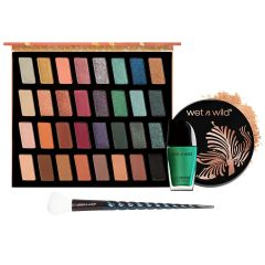wet n wild | The Whole Package | Products front facing on a white background, palette open