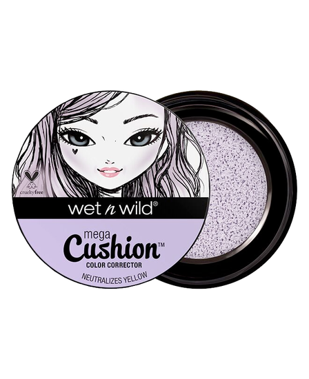 Wet n Wild | MegaCushion Color Corrector -Lavender - Product front facing with cap off on a white background