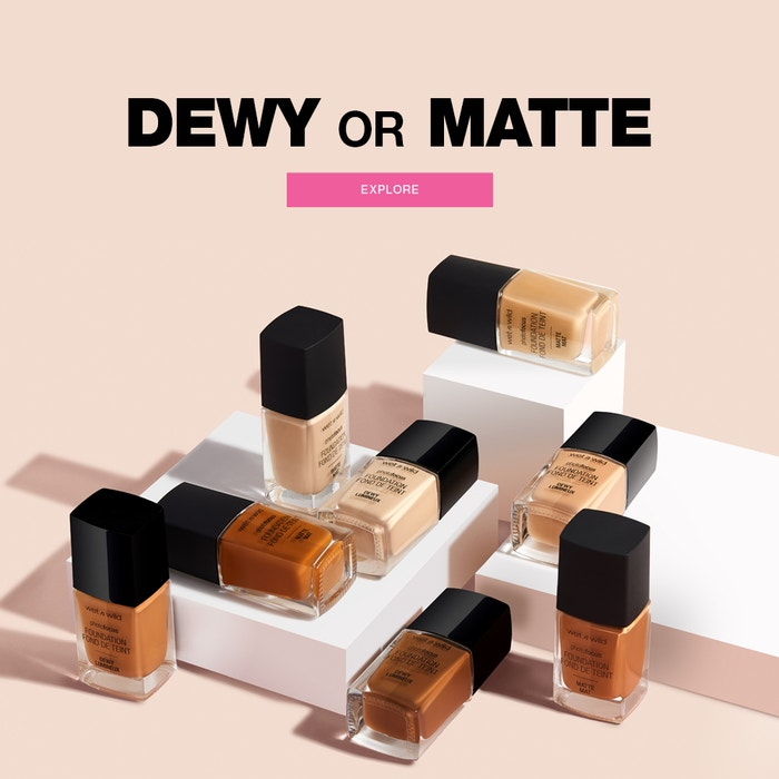 Dewy or Matte Foundation | Explore