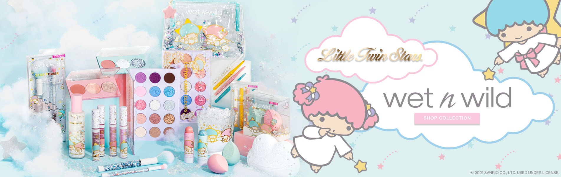 Wet N Wild | Little Twin Stars |Click Here to Shop Collection