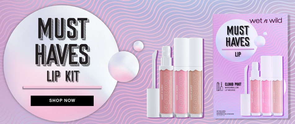 Must Haves Kits | Shop Now | Wet n wild | Product front facing with purple background