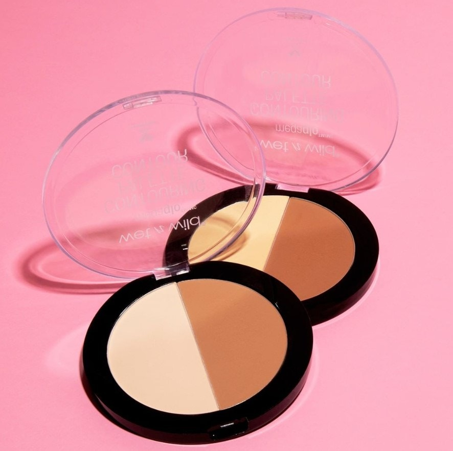 Highlight and contour powder compacts